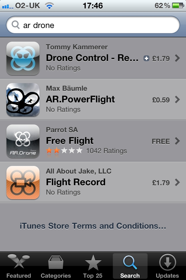 AR.Drone apps starting to emerge