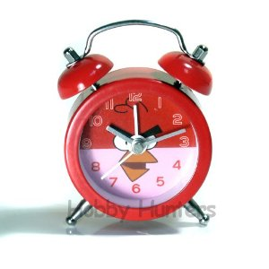 Angry Birds Alarm Clock (Red)