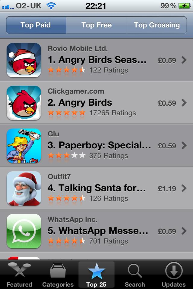 Birds Seasons in at #1