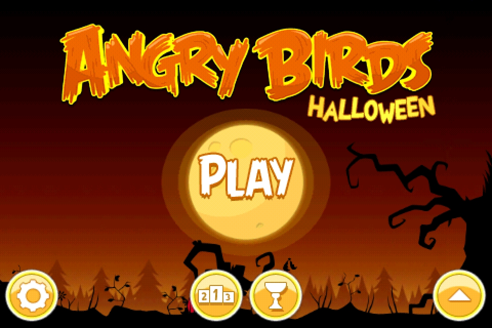 Angry Birds Halloween Edition