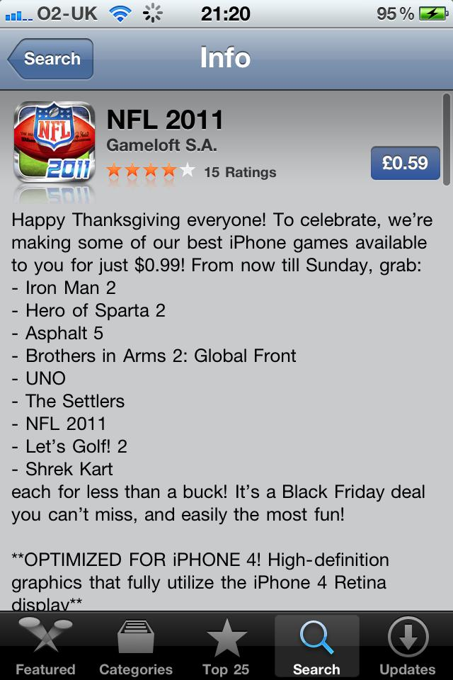 NFL 2011 on sale