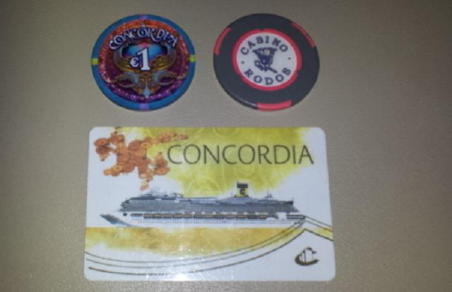 Costa Concordia poker / casino chip - authentic?