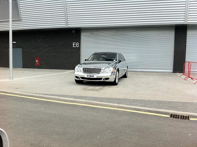 Theo Paphitis' Chrome Wrapped Maybach